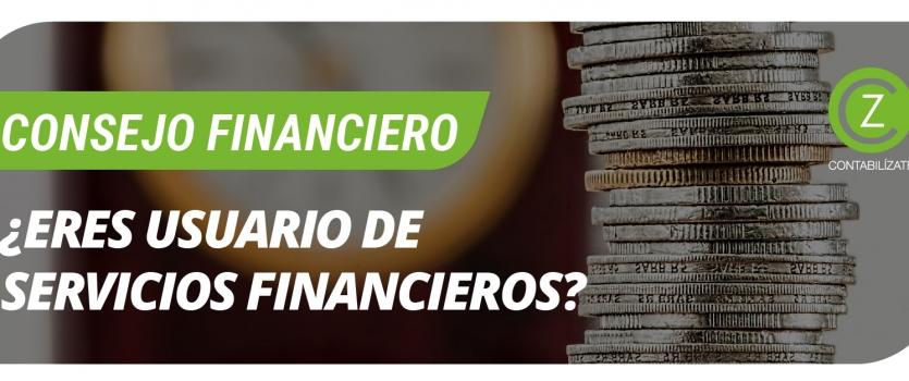 ¿Eres un usuario de Productos y Servicios Financieros?